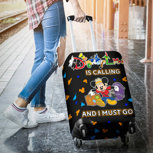 LUGGAGE COVER - DISNEYLAND IS CALLING