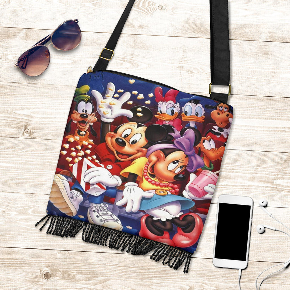 Mickey n Minnie Happy Boho Handbag