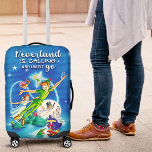 Peterpan Neverland Suitcase Cover