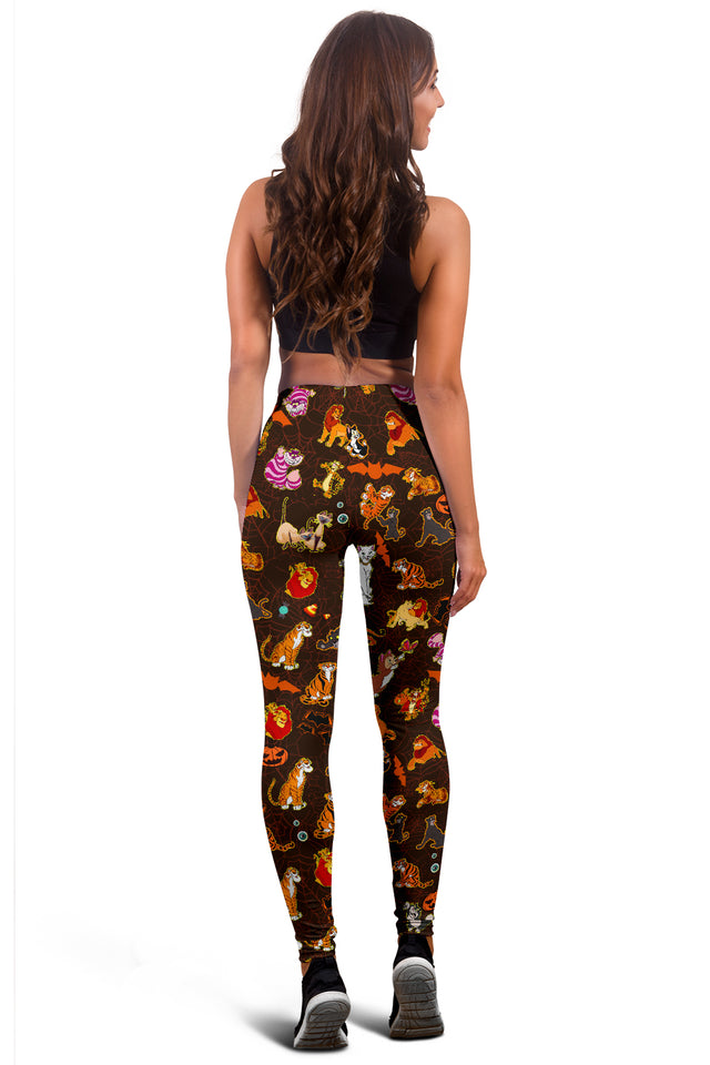 [Express Line Product+ 12$] Cats DN Halloween Women's Leggings