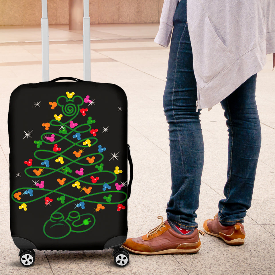 Mickey Head Luggage Cover