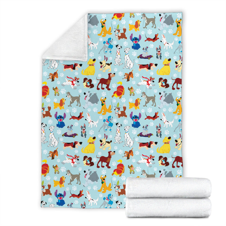 Dogs Disney Premium Blanket