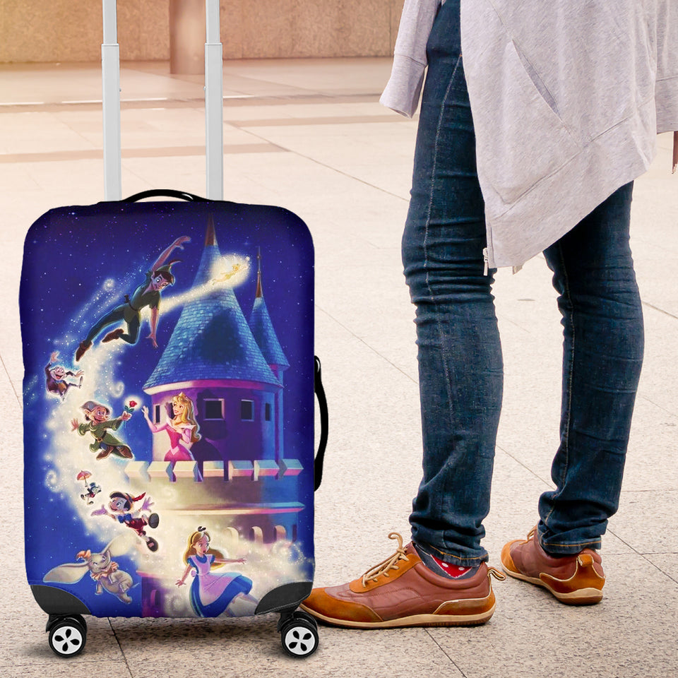 Disney Character Suitcase Cover