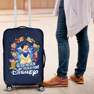 Snow White Luggage Cover