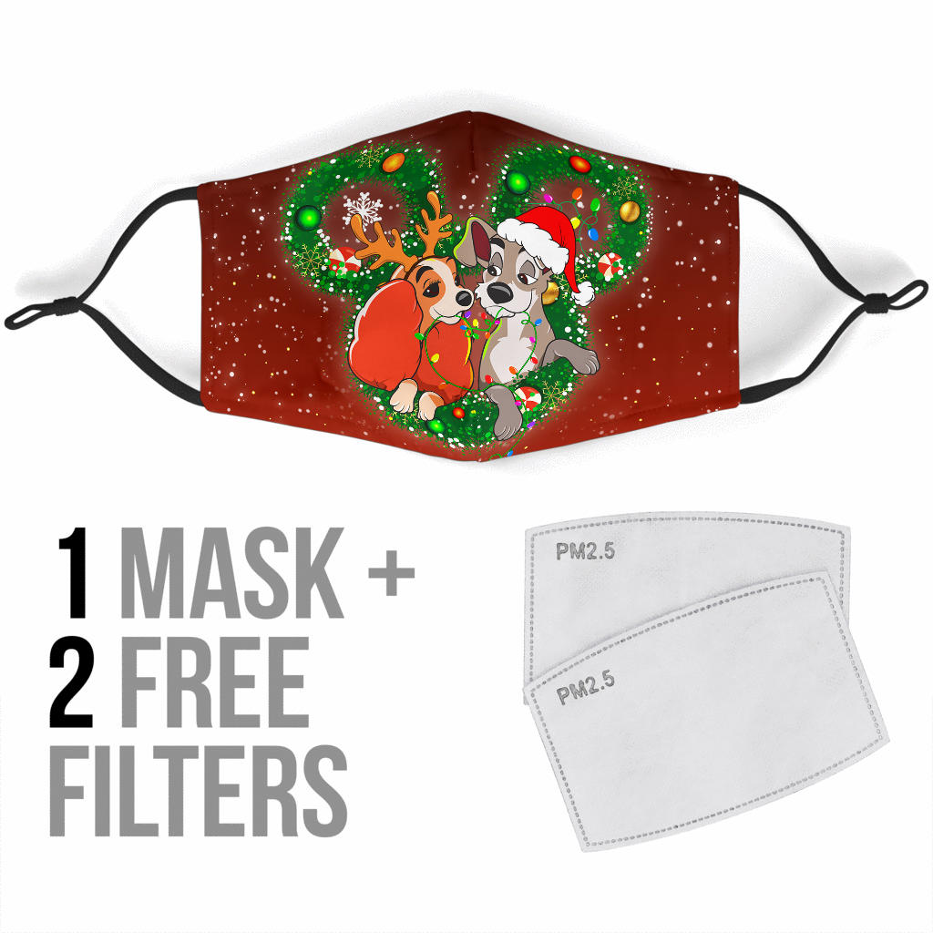 LD&TT Cloth Face Mask + 2 FREE Filters (Age 13+)