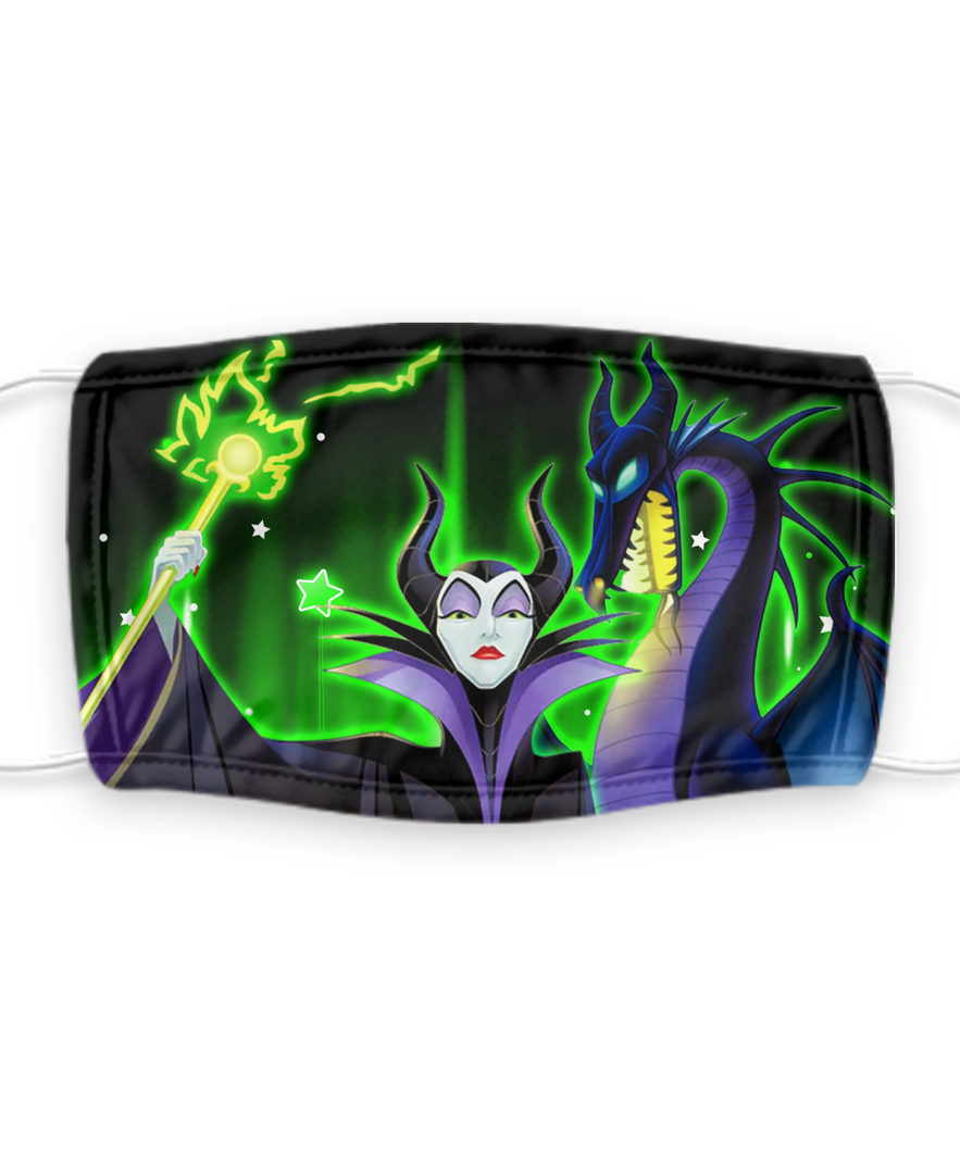 Maleficent Face Mask