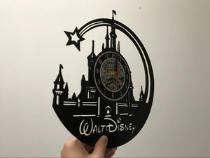 Walt Beautiful Vinyl Wall Clock