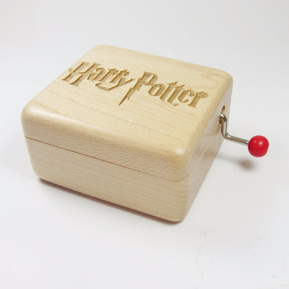 Handmade Wooden harry potter music box