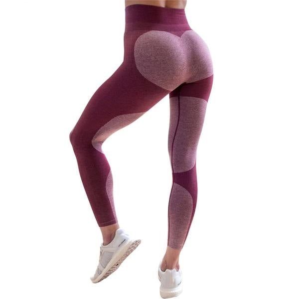 Push Up Heart Leggings for  Women