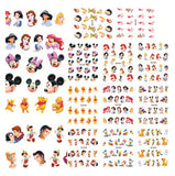 Princess Nail Art Water Transfer Stickers