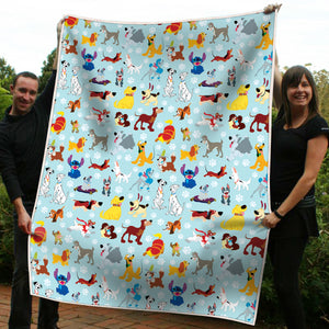 Disney Dogs Blanket