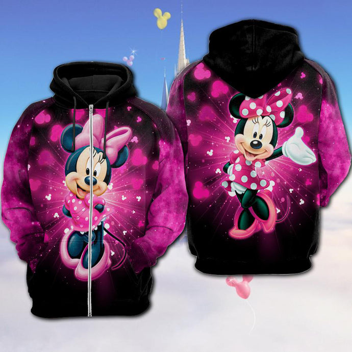 Mn Mouse Bling Hoodie