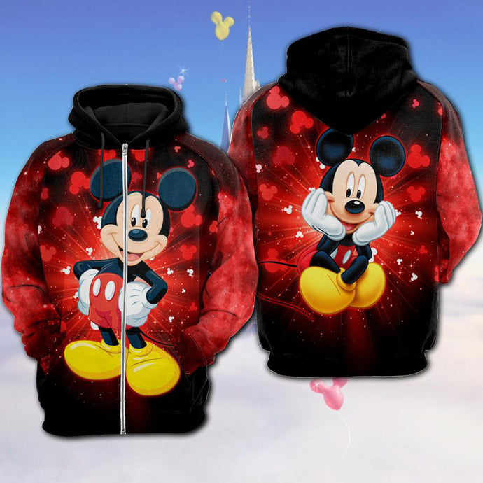Mickey Mouse Bling Hoodie