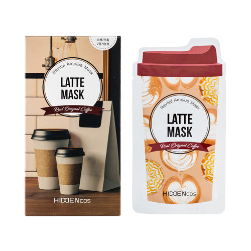 [HIDDENcos] Americano/Latte Mask - 1pcs