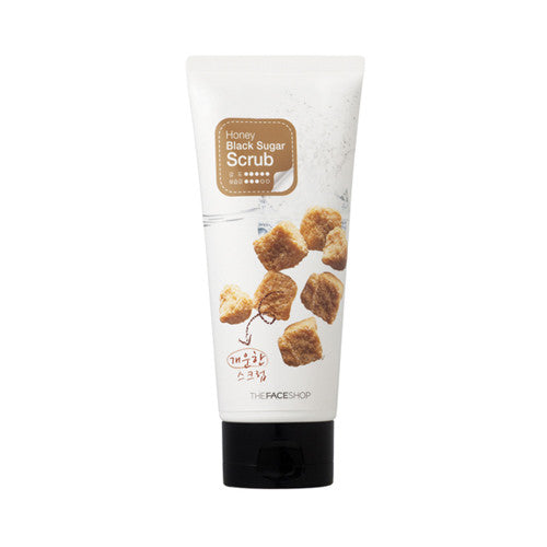 [THE FACE SHOP] Smart Peeling Honey Black Sugar Scrub - 120ml