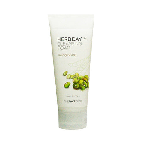 [THE FACE SHOP] Herb Day 365 Cleansing Foam - 170ml