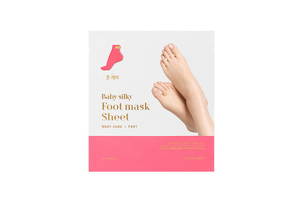 [Holika Holika] Baby Silky Foot Mask Sheet - 1pcs
