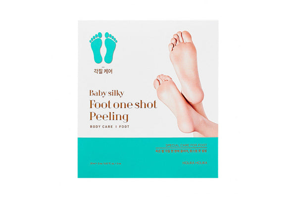 [Holika Holika] Baby Silky Foot One Shot Peeling - 1pack (20ml x 2pcs)
