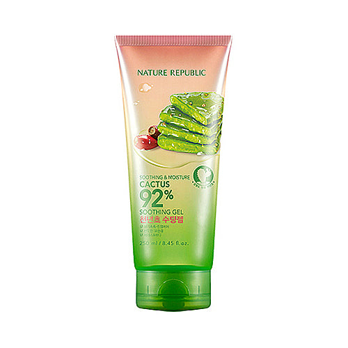 [NATURE REPUBLIC] Soothing Moisture Cactus 92% Soothing Gel - 250ml