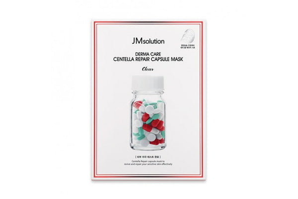 [JMsolution] Derma Care Centella Repair Capsule Mask - 1pack (10pcs)