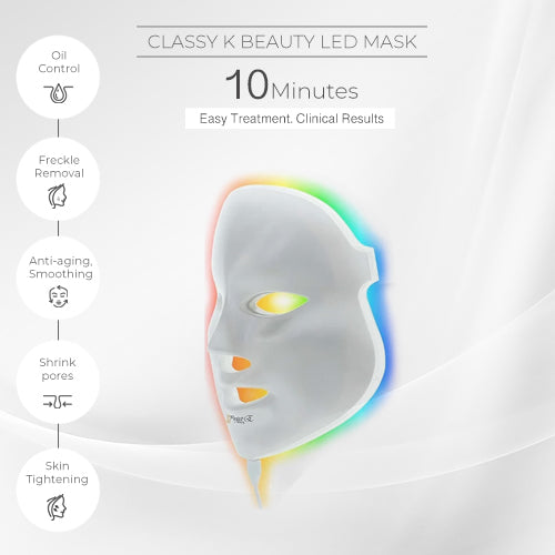 PHOTON REJUVENATION LIGHT MASK - (7 COLORS LED)
