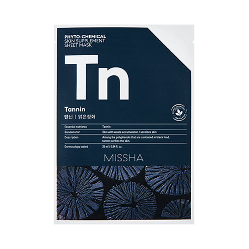 [MISSHA] Phyto Chemical Skin Supplement Sheet Mask - 1pcs