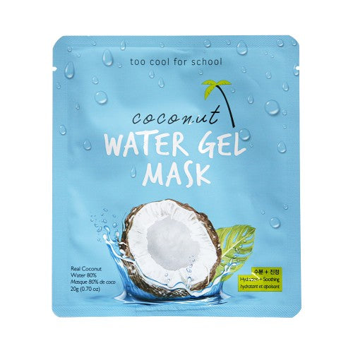 [TOO COOL FOR SCHOOL] Coconut Water Gel Mask - 1pcs