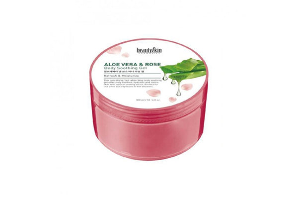 [BEAUTY SKIN] Aloe Vera And Rose Body Soothing Gel - 300ml
