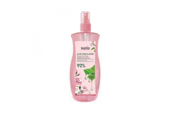 [BEAUTY SKIN] Aloe Vera And Rose Body Gel Mist - 200ml