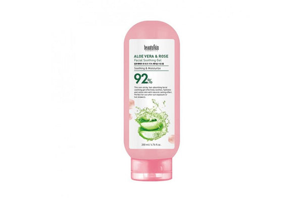 [BEAUTY SKIN] Aloe Vera And Rose Facial Soothing Gel - 200ml