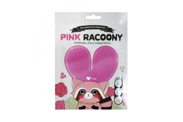 [Secret Key] Pink Racoony Hydrogel Eye Cheek Patch - 1pack (3uses)
