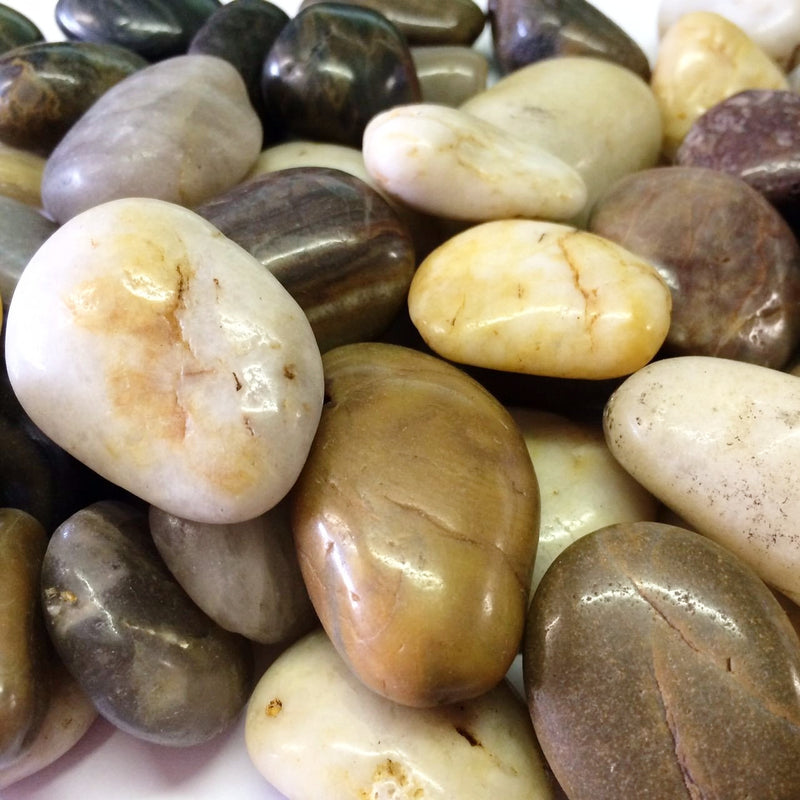 Pebbles | Mixed Polished 30mm - 50mm, 2/1T OR 1T