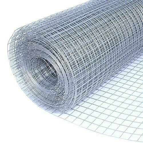 Galvanized Aviary Mesh Roll 1200mm x 12.5mm x 12.5mm x 0.71mm - 4 Length's Available