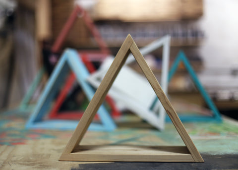 BYOB Wood Triangle Shelf Making Class