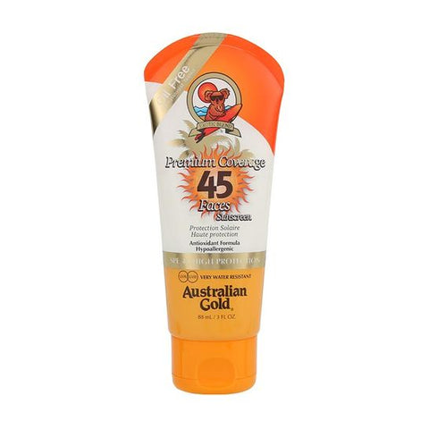 Premium Coverage SPF 45 Face Lotion with Bronzer