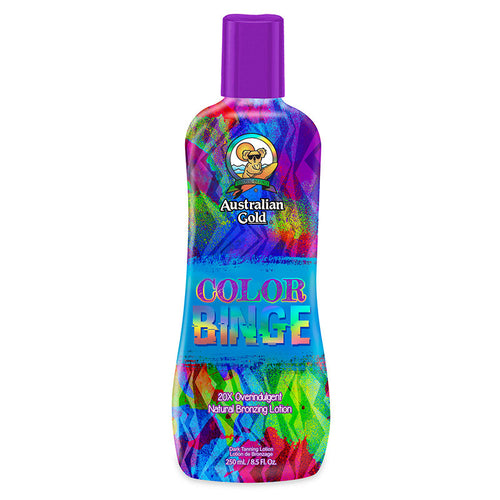 Australian Gold color binge immediate bronzer tanning lotion