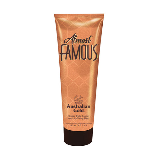 Australian Gold Almost Famous tanning lotion DHA bronzer