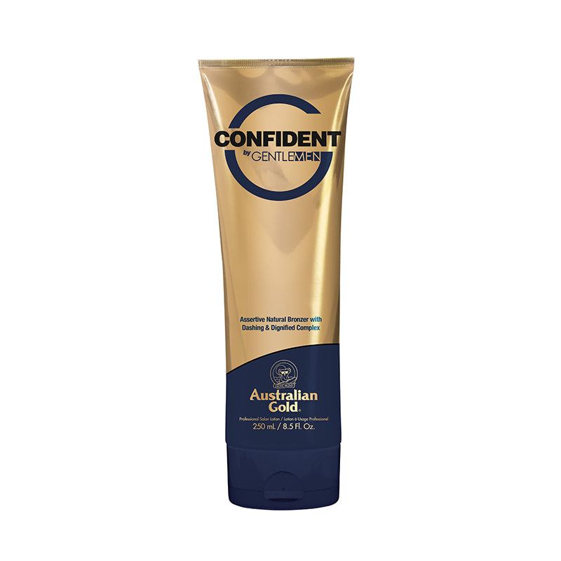 Australian Gold Confident by G Gentlemen immediate bronzer tanning lotion