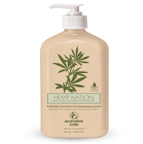 Hemp Nation Toasted Coconut & Marshmallow Tan Extender