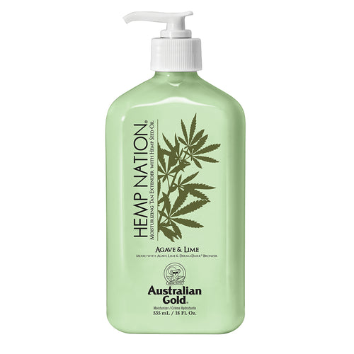 Hemp Nation Agave and Lime Tan Extender