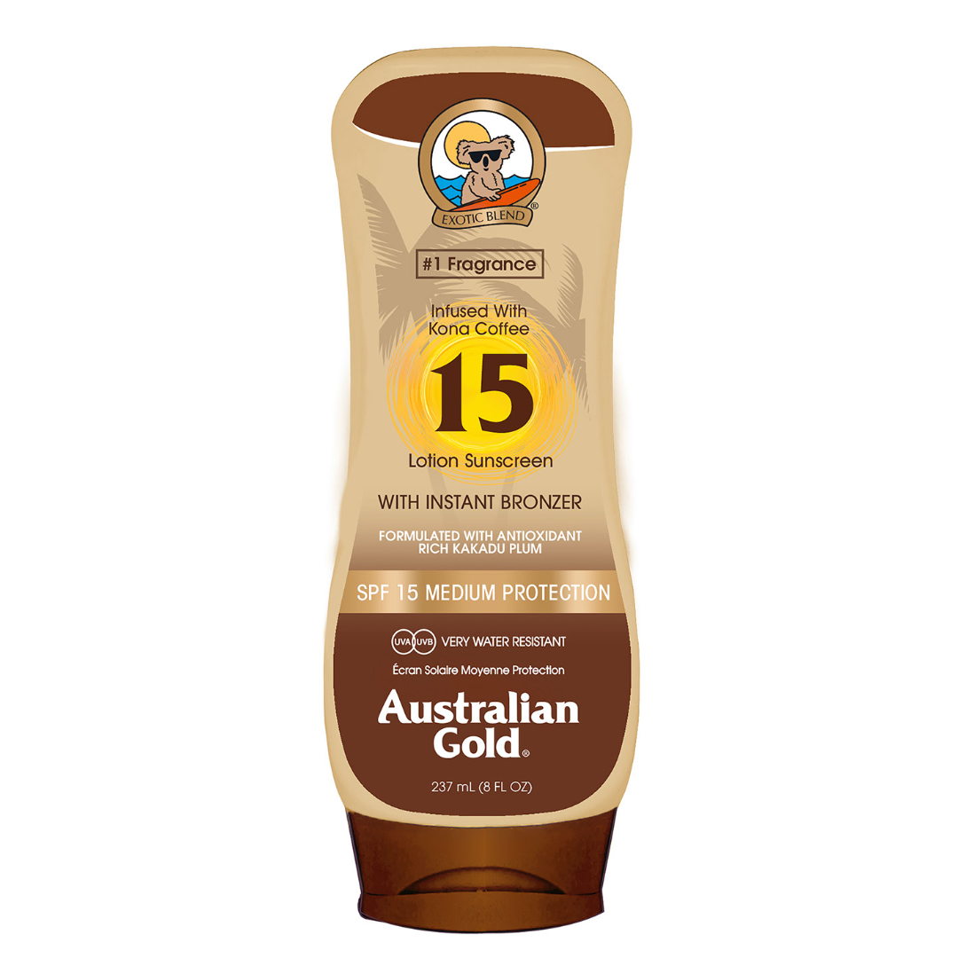 SPF 15 Lotion with Bronzer
