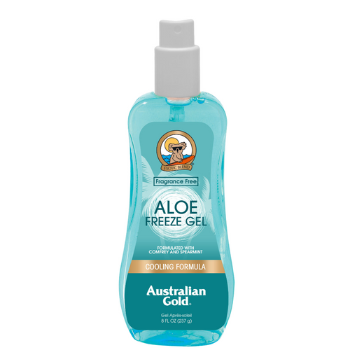 Australian gold aloe freeze gel aftersun spray