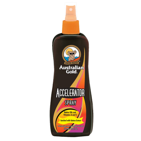 SPF 30 Spray Gel with Bronzer
