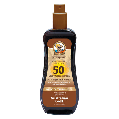 SPF 10 Spray Gel with Bronzer