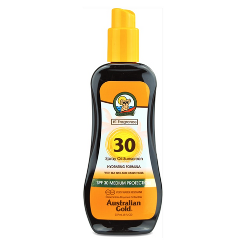 SPF 30 Spray Carrot Oil