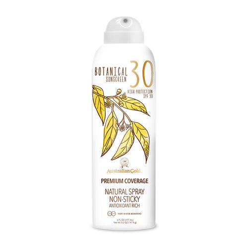 australian gold SPF 30 botanical sun cream spray