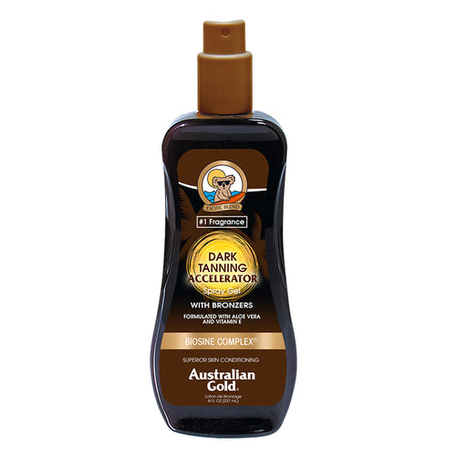 Australian Gold Dark Tanning Accelerator Spray With DHA Bronzer