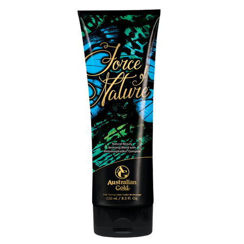 Australian Gold Force of Nature immediate bronzer tanning lotion with tattoo protection