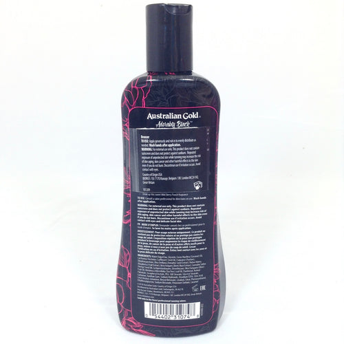Australian Gold Adorably Black tanning lotion DHA bronzer