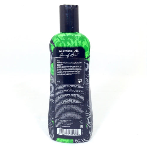 Australian Gold Deviously Black DHA bronzer tanning lotion